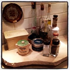 """Another great way to display our unique """"upcycled granite cheeseboards"""" @Etsy / countertopcouture $38"""