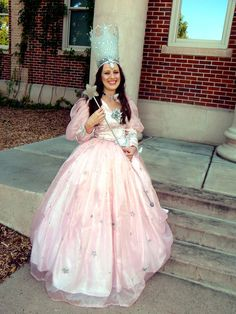 Glinda the Good Witch costume by starlitcreation on Etsy, $250.00