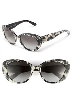 kate spade new york 'florence broadhurst' retro sunglasses | Nordstrom