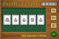 A fun way to Learn Fractions. Your kids will be addicted and know equivalent fractions inside-out.