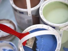 7 Painting Tricks. One of which is adding vanilla extract to paint to get rid of smell, awesome! Others are how to get paint off skin, tinting white paint, how to get out of carpet, etc. Great tips!!