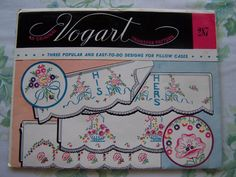 Vintage Vogart 287 Embroidery TransferHis & Hers by WitsEndDesign, $5.00