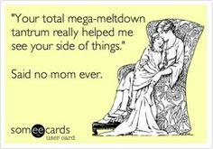 Melt down/tantrum