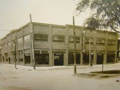 The Monnot and Sacher Ford dealership early 1900's, now the Canton Classic Car Museum.