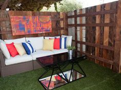 As seen on HGTV's Flipping the Block Unit A Patio