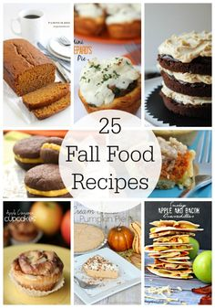 25 delicious recipes for fall featured on iheartnaptime.com