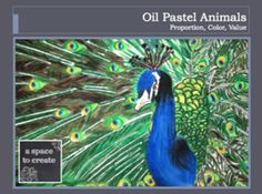 Oil Pastel Animals - Golden Ratio Bundle - Great way to tie Math into an art lesson and let the kids work shine. Engaging end of the year project.