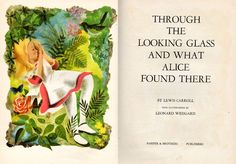 book shelf, illustr leonard, illustrations, alice in wonderland, glass