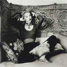 Vogue Fashion, in Morocco, 1951.