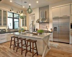 architect, floor, light fixtures, stool, hous, modern kitchens, austin tx, kitchen designs, island