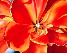 Birgit O'Connor Watercolor Demo on Mighty Art Demos