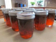 Pepper Jelly (good with cream cheese and crackers for dip, or as a marinade)