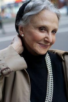 79 year old with beautiful skin!