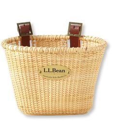 Nantucket Bike Basket Co. Lightship Bike Basket: Cycling Bags   Free Shipping at L.L.Bean