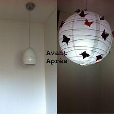 boule japonaise on pinterest paper lanterns ikea and newspaper. Black Bedroom Furniture Sets. Home Design Ideas