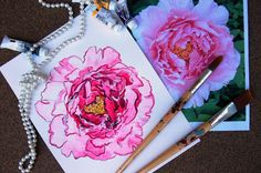 Carol Woldhuis Designs | @Carol Woldhuis Designs | Custom Hand Painted Invitations & Stationery