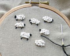 ★ How to Embroider for Beginners   Learn Embroidery Stitches   Craft Tutorials & Projects ★ She also has an index link of all Embroidery stitches and instructions at http://www.inaminuteago.com/stitchindex.html