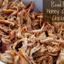{Crock Pot} Honey Garlic Chicken