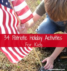 Activities, food creation, and crafts that we have done to celebrate patriotic holidays. They would be great for Veterans Day.