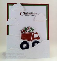Stampin' Up! Christmas  by Tara Bourgoin at Can't Stamp the Rain