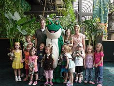 Birthday party at Cleveland Metroparks Zoo! http://www.clemetzoo.com ...