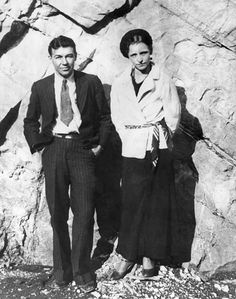 Bonnie and Clyde in a peaceful moment
