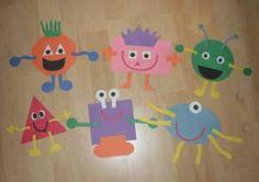 shape monster crafts