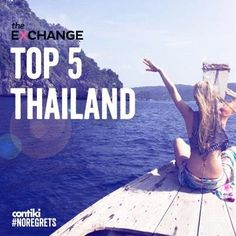 5 things you've gotta do in Thailand! #asia #contiki #travel