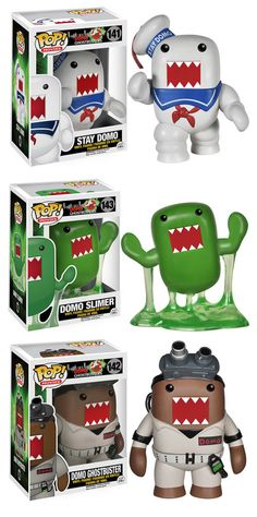 Ghostbusters Go Domo In New Toys From Funko  Funko practically has the market on cute vinyl figures cornered. Their Pop! line is vast and they're adding to their collection all the time. They've successfully stepped into the realm of mash-ups before, and if you're a fan of Domo and Ghostbusters, you'll love their latest series.  http://nerdapproved.com/toys/ghostbusters-go-domo-in-new-toys-from-funko/#gPwUQDTZ4k7yo7AR.99