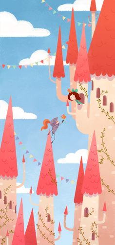 Castle :: by Zouap on deviantART