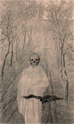 Death in the Alley by Jaroslav Panuska (1900)