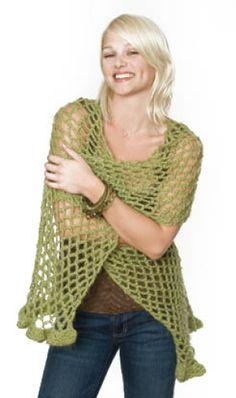 free wrap crochet pattern