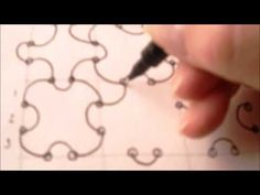 How to draw tanglepattern 8's