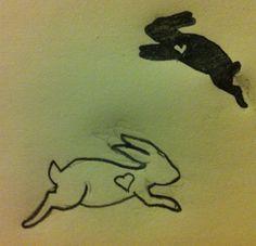 Bunny tattoo idea #2