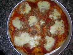 Pizza Con Pasta Madre