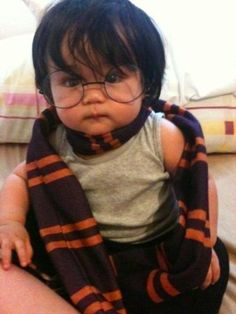 kid costum, kid corner, potter babi, babi funni, harry potter, babi room, funni outfit