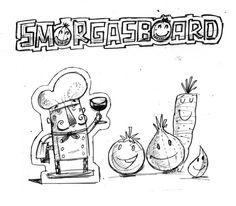 Smorgasboard by Steve Simpson, via Behance