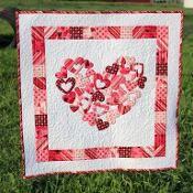 My Valentine Quilt Pattern - via @Craftsy