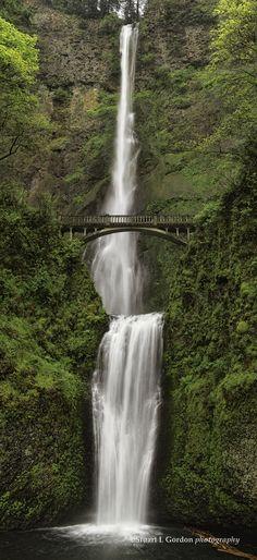 Multnomah Falls, outside Portland, OR