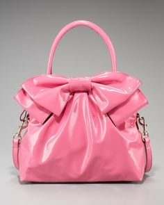 Valentino Double Handle Bow Bag