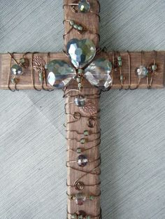 A cross for St. Patrick's Day. Just added to my Etsy site.