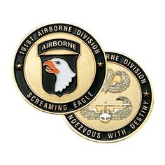 101st Airborne Division Challenge Coin | Medals of America