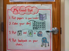 Put borders on your anchor charts. Per Debbie Diller- the brain likes borders.