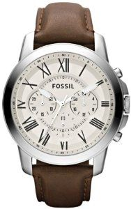 Hot Deals - Fossil FS4735 Grant Brown Leather  Like, Repin, Share it  #todaydeals #deals #ChristmasDeals  #discounts #sale #Watches