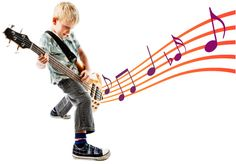 Rock n Roll Kid with #Guitar