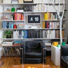 stand desk, panoram view, offic, book, wall shelves, standing desks, apartments, design studios, workspac