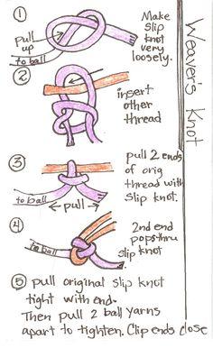 Weavers Knot - Tutorial ❥ 4U // hf