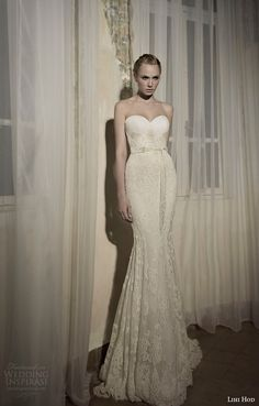 Harmony strapless Gown Wedding Dress from Lihi Hod SS 2014 Bridal Collection