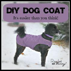 dog coats, diy dog clothes pattern