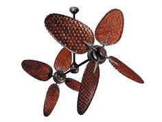 doubl fan, ceiling fans, high ceilings, front room, island life, decor idea